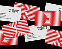 Branding — Machina Events, 2018