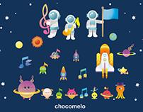 宇宙音楽祭デザイン