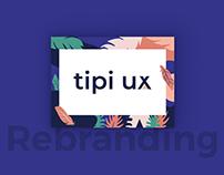 Tipi UX | Rebranding