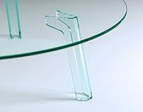 Still life glass Rendering