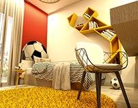 Tangram Bedroom