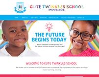 Website Design for Cute Twinkles School