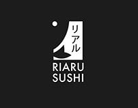 Riaru Sushi Restaurant - Logo Design