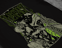 """Albatross Overdrive (US) - """"Ascendant"""" tshirt artwork"""