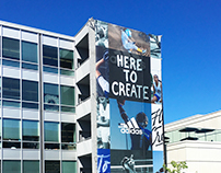 Adidas Here To Create Campaign