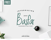 Free Basfar Handwriting Font
