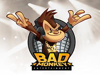 Mascot Design : Bad Monkey Entertainment