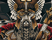 Odin All-Father - Illustration Project | WCG