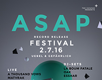 ASAP – Record Release Festival