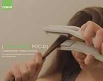 Conair Ergonomic Hair Straightener