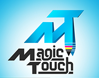 Magic Touch logo design