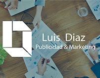 Logo, Tarjetas y Banner - Luis Diaz