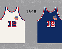 History of Team USA Jerseys