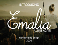 Emalia Handwriting Font