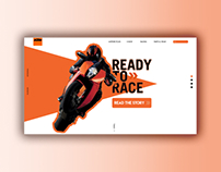 KTM - Landing Page