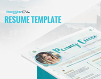 Resume Template BellaBlue