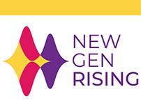 New Gen Rising - Logo + Branding