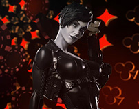 Sideshow Domino Premium Format Figure Preview