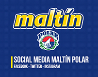 Maltín Polar - Social Media