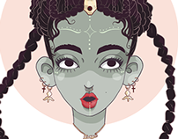 FKA twigs: I can't stop drawing her.