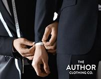 Author Clothing Co. - Identity design & Branding