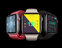 UI design of Apple Watch faces