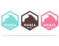 Mania Shake Branding