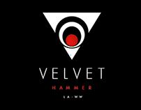 Velvet Hammer - Logo and Brand Identity...