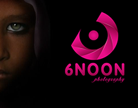 6 NOON photography .. logo