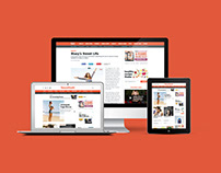 Natural Health Magazine Website Redesign