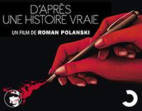 D'APRÈS UNE HISTOIRE VRAIE - KEY ART