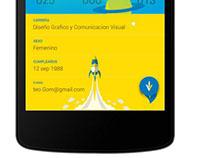 Diseño de Aplicación para Android INSCRIVELOZ