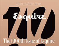 1000th Issue / Esquire