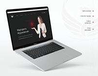 Landing page (contest work)