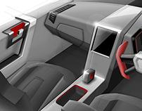 LAMBORGHINI SUV Interior Concept