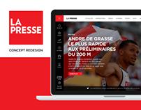 La Presse / Concept Redesign