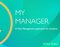 My Manager: Design for yourself (Mobile Application)
