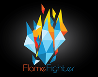 Game Logo Design | Flame Fighter |