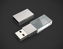 Acrylic USB Drive set