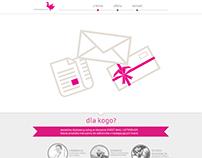 adresowanie.pl company website one page