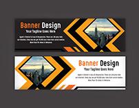 Creative Web Banner AD Design