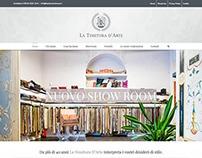 Website La Tessitura d'Arte