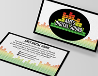 Ames Digital Sound - Logo & Business Card