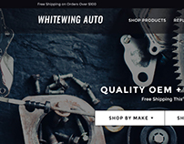 White Wing Responsive eCommerce Site