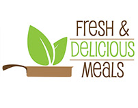 Fresh and Delicious Meals Logo