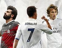 #infographic #salah #modric #ronaldo #sport #UEFA