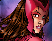 MARVEL | Ilustración | Scarlet Witch