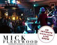 Mick Fleetwood & Willie K Concert Promo