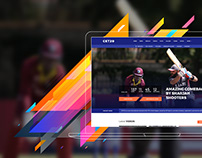 T20 Cricket Website