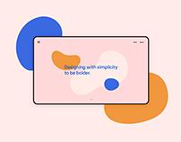 Minal Studio Website Identity